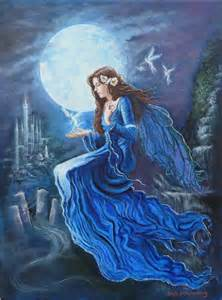 celtic moon goddess